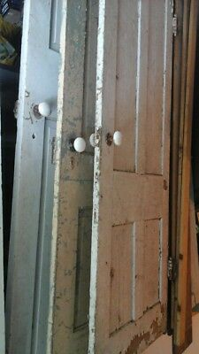 Antique wood 4 panel doors