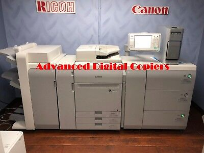 Canon  Imagepress C700 Copier/printer With Finisher And Server F-200 Low Meter