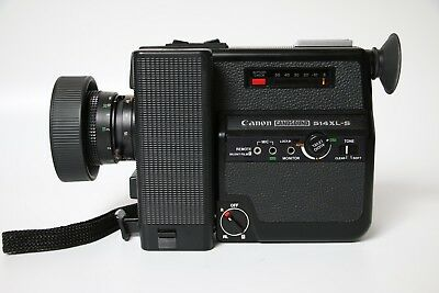 CANON 514 XL-S Super 8MM MOVIE CAMERA