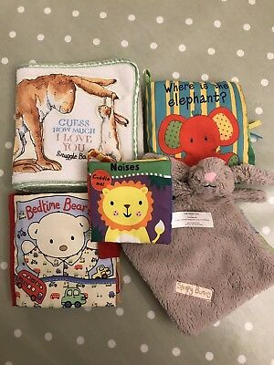5 Fabric Soft Baby Books With Different Textures And Noises