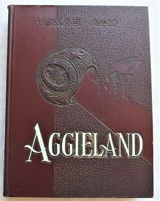 1953 Texas A & M College Station Texas Yearbook Aggieland