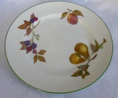 "New Royal Worcester Evesham Vale Starter/ Salad/Dessert Plate 8 1/4"" SECONDS RIM"