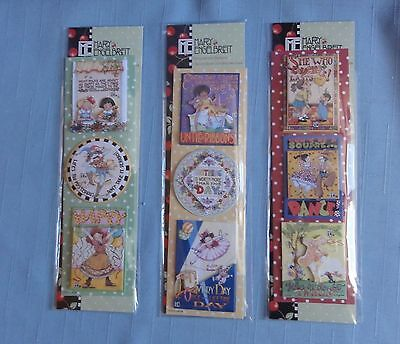 Mary Engelbreit 3D DIMENSIONAL DANCING FRIENDS STICKERS 3 Pkgs Punch Sweetheart