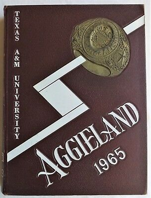 1965 Texas A & M University College Station Texas Yearbook Aggieland