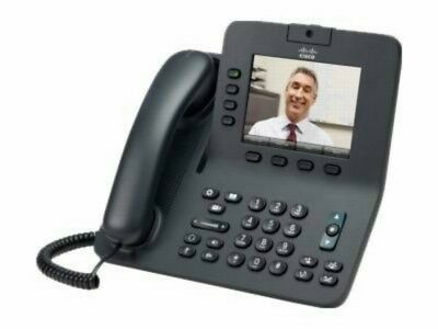 Cisco CP-8945-K9= V02 Unified Business IP VoIP Display Phone (JT)