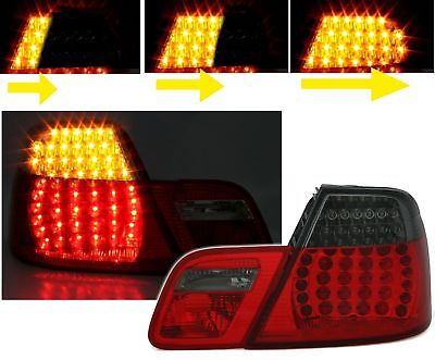 SMOKED REAR LIGHTS FOR BMW E46 3 SERIES PRE-FACELIFT COUPE 04//1999-03//2003