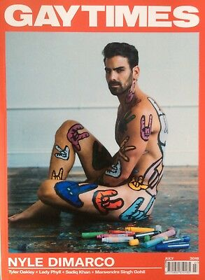 Gaytimes Magazine July 2018 Issue 485 *Nyle Dimarco GT Attitude Gay