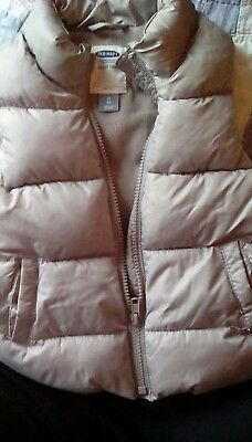 Gray Old Navy Toddler Girl's or Boy's Puff Vest - 3T