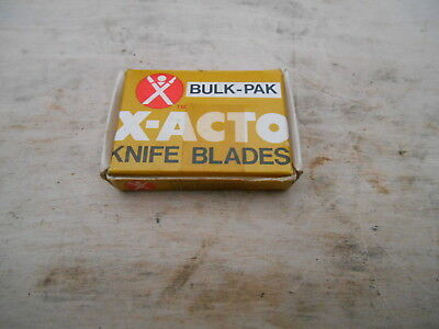 100pc* X-ACTO  610  Curved Knife Blades , USA
