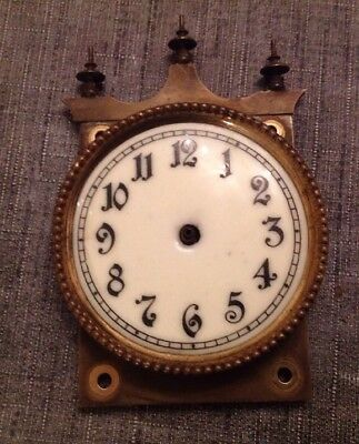 Antique 400 Day Anniversary Clock Face And Frame Part From Clockmakers Spares
