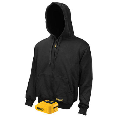 DEWALT 12V/20V MAX Li-Ion Black Heated Hoodie Only - XL DCHJ067B-XL (Bare) New