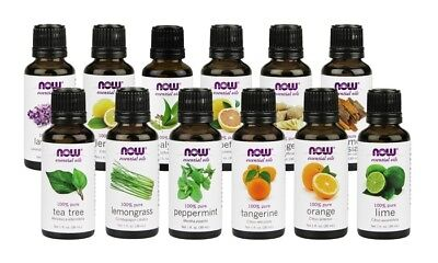 NOW Foods 1 oz ESSENTIAL OILS for Aromatherapy-- Free Shipping--