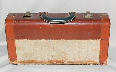 Antique Lyons Band Instrument Co. Clarinet Case Only Rough Condition