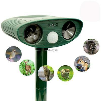Environmentally Friendly Solar Infrared Sensor Ultrasonic Animal BTL8 01