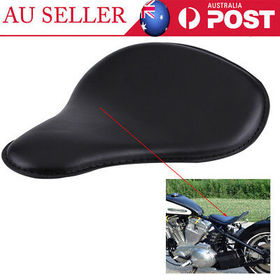 Motorcycle Solo Seat Kit and Bracket for Harley XL883 XL1200 Chopper Bobber