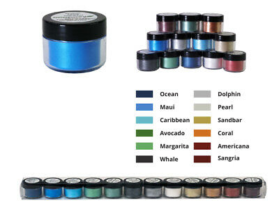 ECOPOXY METALLIC COLOR PIGMENT 14 Pack epoxy resin color add in river tables art