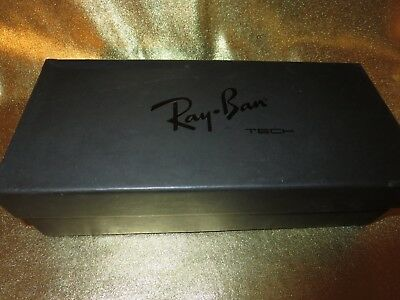 Ray Ban Tech Lite Force Matte Black Polar Sunglass Box empty