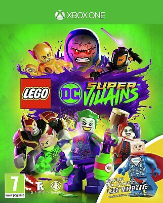 LEGO DC Supervillains Minifigure Edition Microsoft Xbox One Game 7+ Years