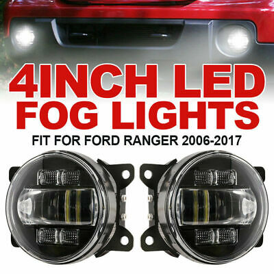 2x 4inch 30W LED Fog Lights w/ DRL Turn Signal Driving Lamp fit FORD RANGER