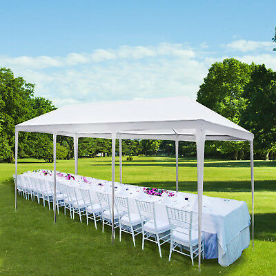 3x9m Garden Gazebo Outdoor Garden Marquee Party BBQ Shelter Tent Wedding Canopy