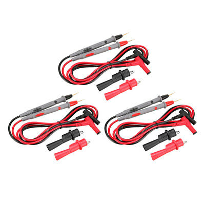 Test Leads with Copper Probe and Alligator Clips, 20A , 12-in-1 Set