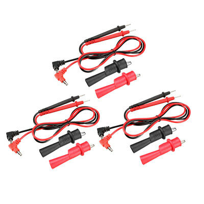Multimeter Test Leads with Probe and Alligator Clips, 10A , 12-in-1 Set