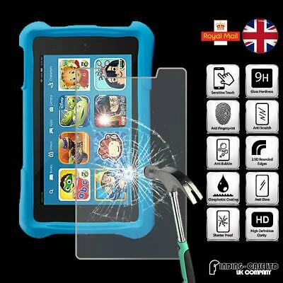 "Tempered Glass Screen Protector For Amazon Kindle Fire 7"" Kids Edition (2017)"