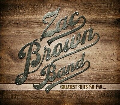 Zac Band Brown - Greatest Hits So Far...  Cd New!