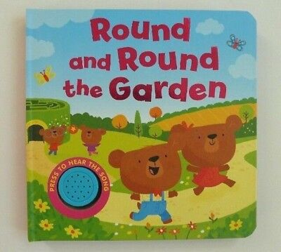 Round & Round The Garden Sound Books For Kids Ages 0 Months+ New Christmas Gift