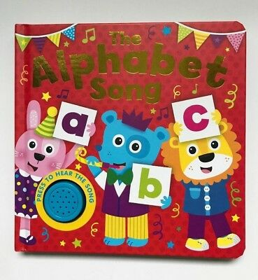 The Alphabet Song Single Sound Books For Kids Ages 0 Months+ New Christmas Gift