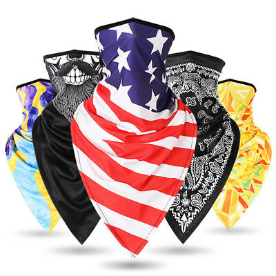 Quick Dry Winter Neck Cold Scarf Windproof Balaclava Cycling Ski Face Mask Bike