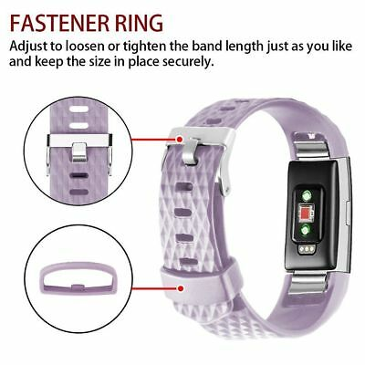 For Fitbit Charge 2 Replacement Wristband Wrist Strap Smart Watch Bands Lavender