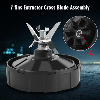 7 Fin Extractor Blade Replacement Part For Nutri Ninja Blender 1000W 1500W
