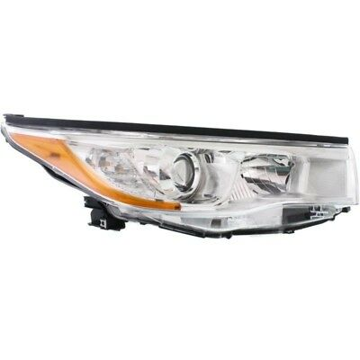New Right Side Head Lamp Assembly Fits 2014-2016 Toyota Highlander To2503221