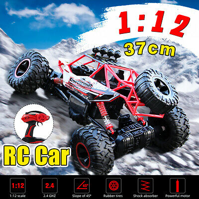 2.4Ghz RC Car 4WD Remote Control Vehicle Electric Monster Buggy Off-Road Gift