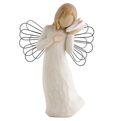 Willow Tree Thinking Of You Angel Figurine Resin Sympathy Keepsake Ornament Gift