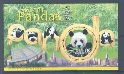 Hong Kong 1999 Giant Pandas M/s Superb Mnh