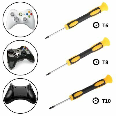 T6 T8 T10 Torx Security Tamperproof Screwdriver Tool for Xbox One 360 PS3 PS4