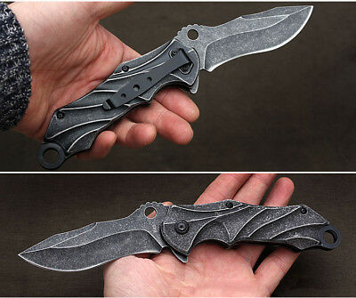 """8"""" STILETTO TAC FORCE MILANO TACTICAL WOOD SPRING ASSISTED FOLDING KNIFE Pocket"""