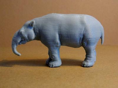 Pyrotherium model 1/35 scale 3d plastic print, museum quality figurine! Rare!