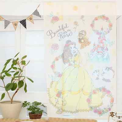 Disney Japan Beauty and the Beast Princess Belle Curtain Princess Party