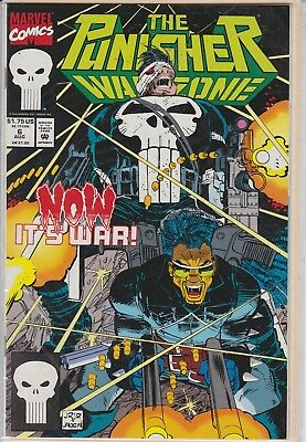 The Punisher War Zone Now Its War Aug #6 Marvel Comic Book 1992