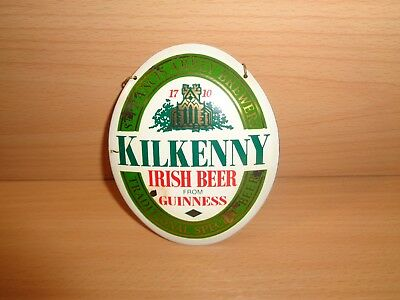 "Zapfhahnschild  """" Kilkenny Irish Beer Guinness  """""