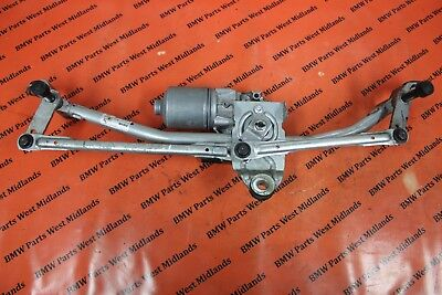 Bmw F25 Rhd Oem Complete Front Wiper Motor With Linkage 7213290 3397021316