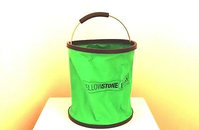 9 Litre PVC Folding Bucket With Metal Handle