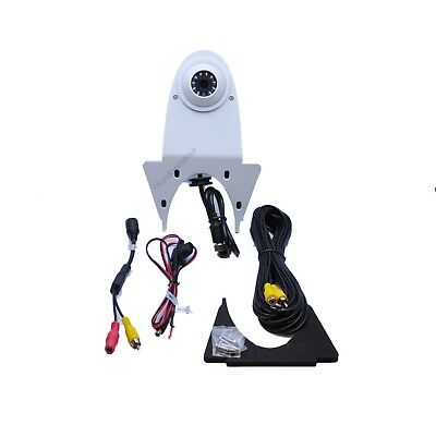 Universal White Van Rear View CCD Camera High Level IR Night Vision 170 Degree