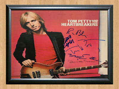 Tom Petty and the Heartbreakers Signed Autographed A4 Poster Photo Memorabilia