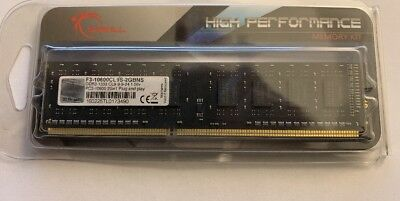 G.SKILL 2 Go DDR3 1333 Mhz RAM PC3-10600 neuves -F3-10600CL9S-2GBNS