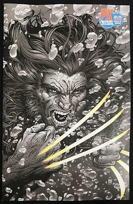 Return Of Wolverine #2 Nycc Mcniven B&w Variant Px Exclusive Limited 3000