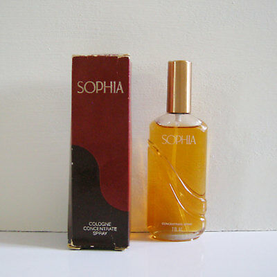 Vintage SOPHIA by Coty Cologne Concentrated Spray 2 oz / 60ml